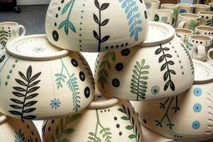 Pintura para ceramica