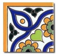 como se hace un azulejo de ceramica en cuerda seca